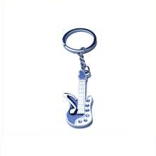 Angepasstes einzigartiges Musikinstrument Keychain der Form