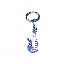 Customized unique shape musical instrument keychain