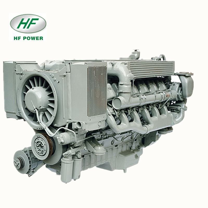 Deutz 8-Silinder Air-Cooled BF8L513 Mesin Diesel 4-Stroke