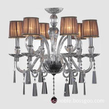 Clear Toughened Glass Pendant Lamp