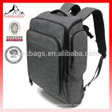 Nylon résistant à l'eau de nouvelles conceptions College Sac à dos pour ordinateur portable pour les hommes School Bag-HCB0071