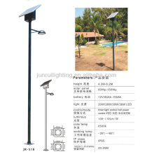 6m high modern style led Solar Power Street Light