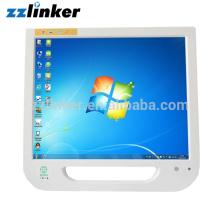 Câmera intra-oral dental com monitor de tela sensível ao toque de 17 polegadas e braçadeira LCD