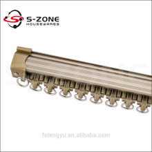universal curtain track/white sliding curtain track/corner curtain track