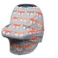 tampa de carrinho de compras de bebê melhor capa de enfermagem de tecido