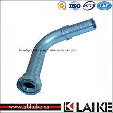Bride hydraulique de garnitures de tuyau, coude en laiton de Klikkon SAE bride