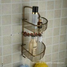 Cesta de jabón de baño de doble capa (BA1022)