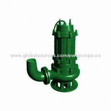 Submersible Sewage Drainage Pump, High Abrasive-resistant and High Chrome Alloy Wear Parts