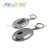Solar LED torch led solar flashlight keychain