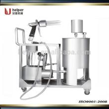 Inyector de salmuera manual de acero inoxidable