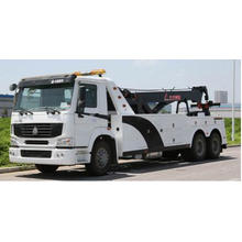China Brand New HOWO Emergency Truck Road Wrecker Tow Truck