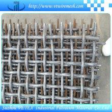 Suzhou Edelstahl 304/316 gecrimpter quadratischer Drahtnetz