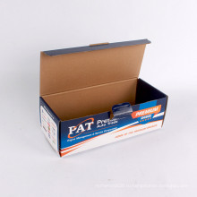 Поставщик Упаковка на заказ коробка гофрированной упаковки коробки складывать