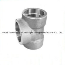 Pipe Fitting Alloy Socket Tee