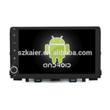 Núcleo Octa! Dvd do carro do andróide 8,1 para RIO 2018 com a tela capacitiva de 9 polegadas / GPS / relação espelho / DVR / TPMS / OBD2 / WIFI / 4G