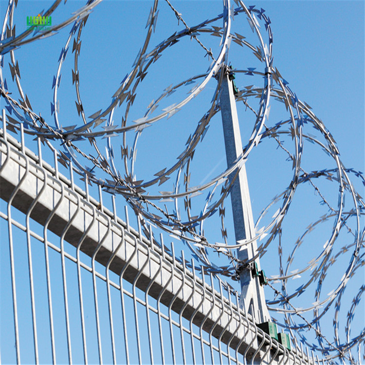 Razor barbed wire fencing China Manufacturer