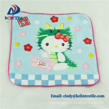 Super cheap promotion gift printing hand towel 100% cotton