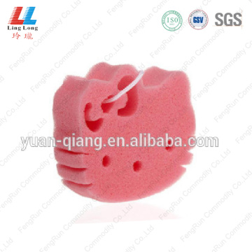 Kitty lovely animal bath sponge