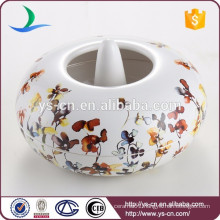 Wholesale Floral & Plants decal Ceramic Aroma Burner