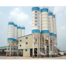 120m3 / H Stationery Planta de mistura de concreto