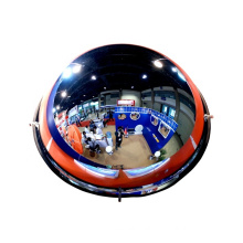 360 view degree indoor acrylic full dome mirror for indoor