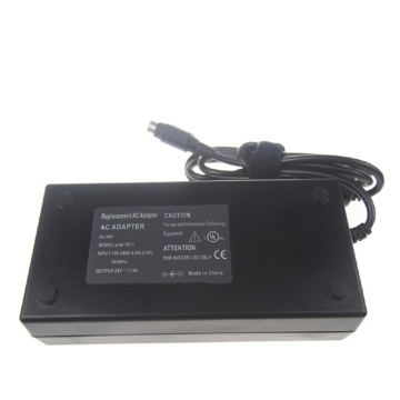 Carregador do poder de 24V 7.5A 4pin para o diodo emissor de luz do LCD
