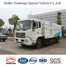 7cbm Dongfeng 16t Road Sweeper Wash Truck Euro4