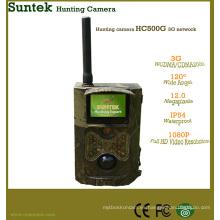 Cámara de gran alcance HC-500G de la caza de SMS de 3G del ángulo 3G