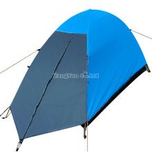 Einzelne Leute-doppelte geschichtete Campingzelte, draußen vier Jahreszeit-Zelte