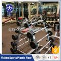 Indoor gym crossfit rubber mat high density eco-friendly rubber floor