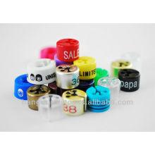 Various Color Plastic Size Clothing Markers for Boutique Dresses Shop