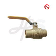 lead free brass weld ball valve