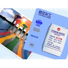 Uso general Rutilo Dióxido de Titanio (R218)