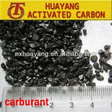 Recubrimiento de carbono FC 90-95-99% para la fabricación de acero / antracita calcinada / grafito / recarburizador de coque de petróleo