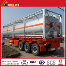 Tri-Axle Chemical Liquid Tank Truck