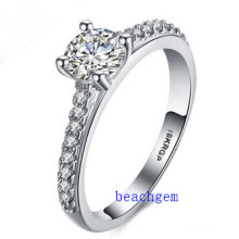 Hot Sell Jewelry- Cubic Zirconia Brass Rings (R0831)