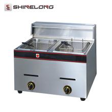 K037 Equipamento de cozinha Frigideira de aço inoxidável de bancada