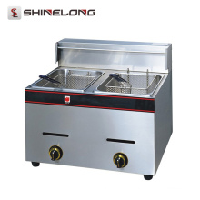 K037 Кухонное Оборудование Прилавок Глубокий Fryer Нержавеющей Стали