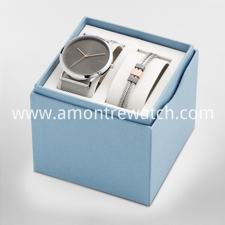 man watch gift box