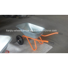 Wheelbarrow with Double Wheel Wb6418s