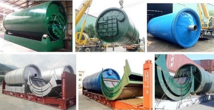 pyrolysis plant shipping