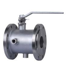 jacket-flanged-ball-valve