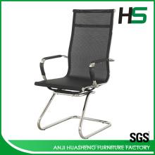 Высокое заднее черное рабочее кресло