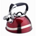 Chaleira de assobio quente do potenciômetro do chá da forma da venda