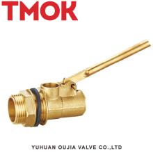 válvula de flotación de tubo de perforación de torre de enfriamiento de latón