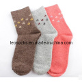 Femmes chaussettes en laine mérinos (DL-ws-81)