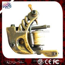 Handmade bronze polimento desenho atraente tatuagem arma para Linerattoo arma para forro
