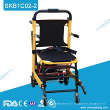 SKB1C02-2 Civière d'escalier électrique confortable d'hôpital