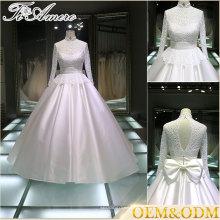 Гуанчжоу свадебное платье Китай на заказ свадебное платье белый женщины дамы корсет свадебное платье бальное платье