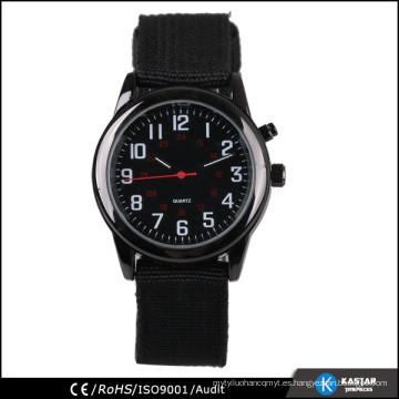 Reloj de acero inoxidable para hombre de cuarzo para la venta al por mayor